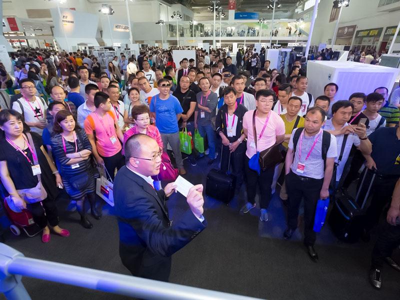 ช่วงไฮเดลเบิร์กที่ China Post ได้สร้างความประทับใจให้กับผู้เข้าชมงานหลายราย