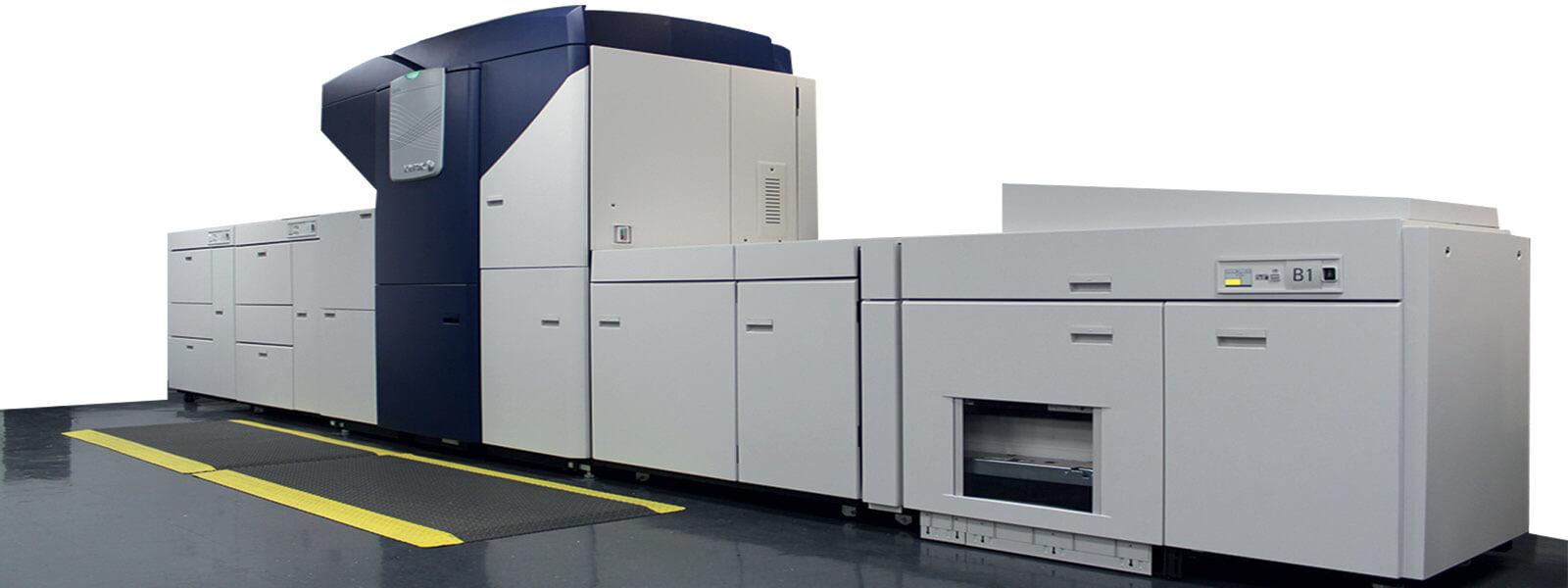 ที่มา : http://www.maplepress.com/digital-printing-print-on-demand-short-run.html ตัวอย่างเครื่องพิมพ์ Digital printing